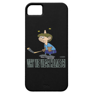 Why We Wear Helmets iPhone SE/5/5s Case