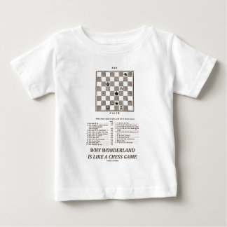 Why Wonderland Is Like A Chess Game (Preface) Baby T-Shirt