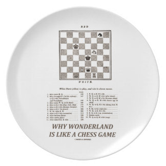 Why Wonderland Is Like A Chess Game (Preface) Plate