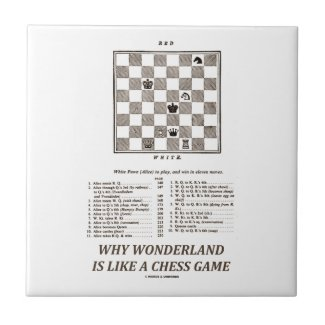 Why Wonderland Is Like A Chess Game (Preface) Tile