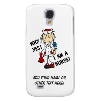Why Yes I am a Nurse Galaxy S4 Cover