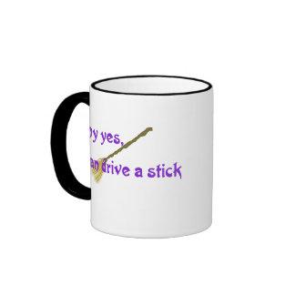 Why yes, I can drive a stick Coffee Mug