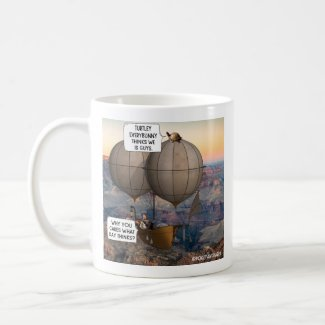 Why You Care What Day Thinks? Pokey and Harry Coffee Mug