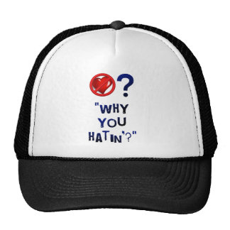 Why you hatin' mesh hats