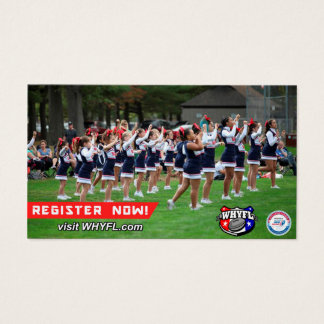 WHYFL Cheer Card