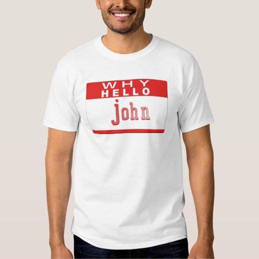 whyhellojohn comedy sketch tshirts
