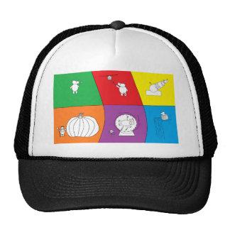 whynocerus the rhinoceros trucker hat