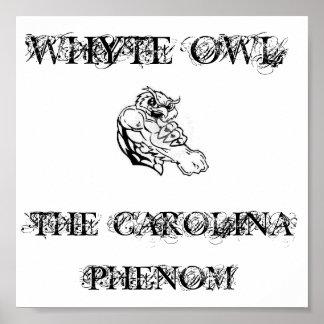 Whyte Owl Carolina Phenom Poster