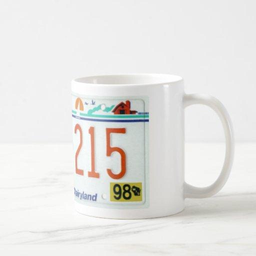 WI98 CLASSIC WHITE COFFEE MUG