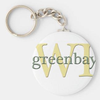 WI de Greenbay Llaveros Personalizados