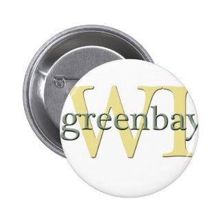 WI de Greenbay Pin