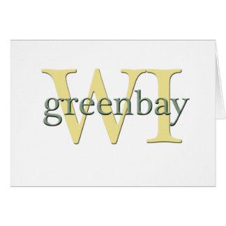 WI de Greenbay Tarjetón