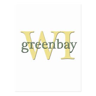 WI de Greenbay Tarjetas Postales