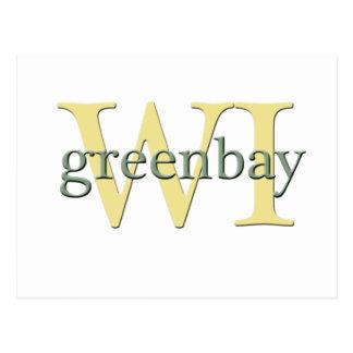 WI de Greenbay Postales