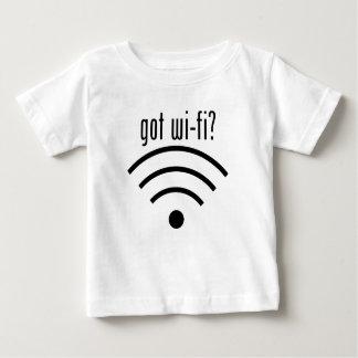 ¿Wi-Fi conseguido? Playera Para Bebé