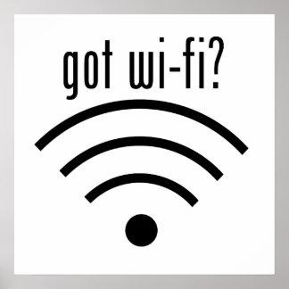 ¿Wi-Fi conseguido? Póster