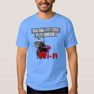 Wi-Fi hilarante Playeras