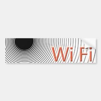 Wi Fi Pegatina Para Auto
