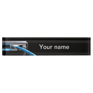 Wi-Fi router Nameplate