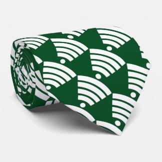 Wi-Fi Symbol Tie