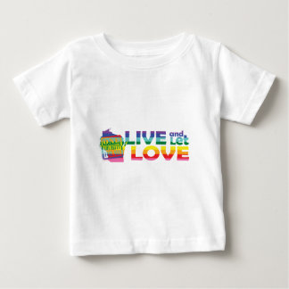 WI Live Let Love Baby T-Shirt