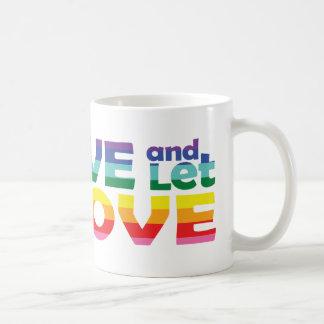 WI Live Let Love Coffee Mug