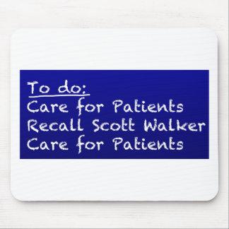 WI-Nurse-to-do Mouse Pad