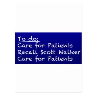 WI-Nurse-to-do Postcard