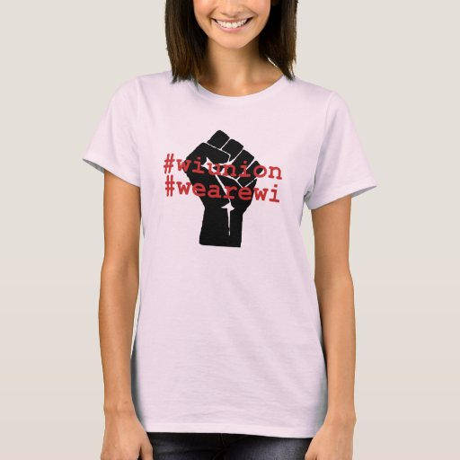 WI Union We Are WI t-shirt + kuxchange (women's)