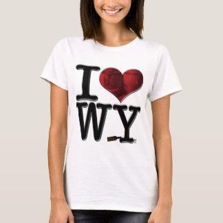 WI: Whisky I (del corazón) Playera