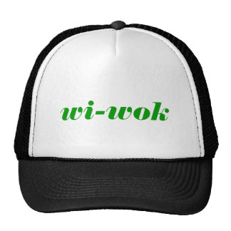wi-wok trucker hat