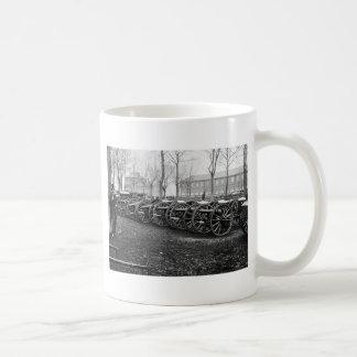 Wiard Guns at the Arsenal: 1862 Coffee Mug