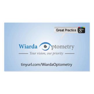Wiarda Optometry Business Card