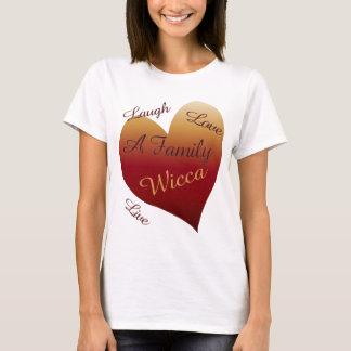 Wicca Live Laugh Love T-Shirt
