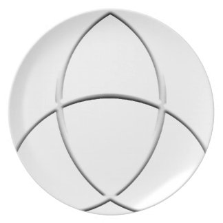 Wicca Protection Dinner Plate