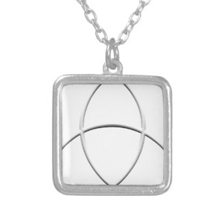 Wicca Protection Square Pendant Necklace