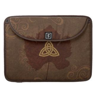 Wicca Rustica: Celtic Autumn MacBook Pro Sleeves