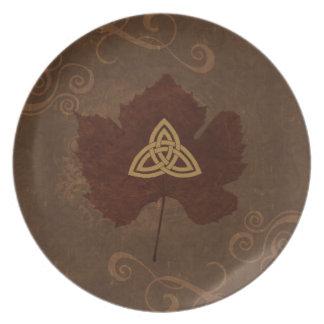 Wicca Rustica: Celtic Autumn Plates