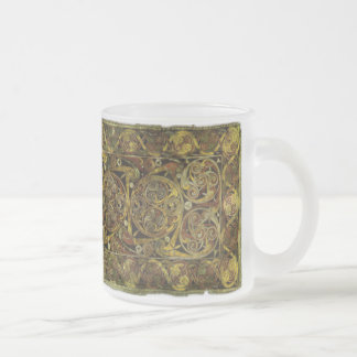 Wicca Rustica: Celtic Dream Frosted Glass Coffee Mug