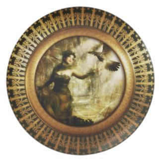 Wicca Rustica: Gran diosa Platos Para Fiestas