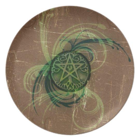 Wicca Rustica: Magick Pentacle Plate