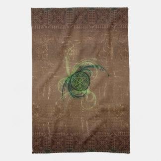 Wicca Rustica: Magick Pentacle Towel