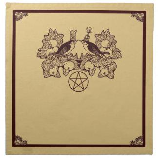 Wicca Rustica: Oestara feliz Servilletas Imprimidas