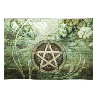Wicca Rustica: Woodland Pentacle Cloth Placemat