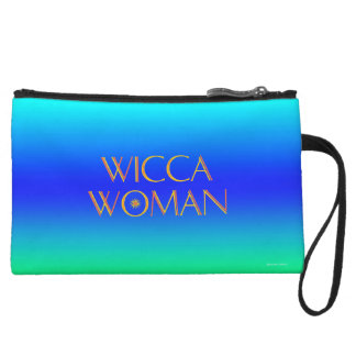 """""""Wicca Woman"""" Sun Mini-Clutch Wristlet Wallet"""