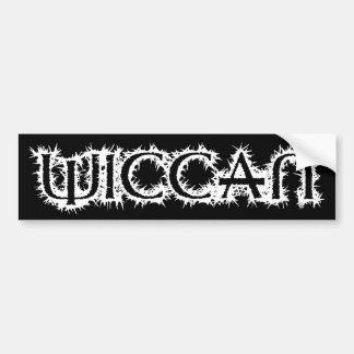 Wiccan Bumper Sticker