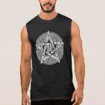 Wiccan Celtic Pentagram Sleeveless T-Shirt