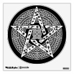 Wiccan Celtic Pentagram Wall Decal