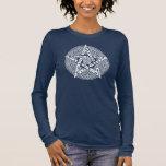 Wiccan Celtic Pentagram Women's Long Sleeve Tee