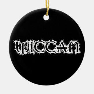 Wiccan Ceramic Ornament